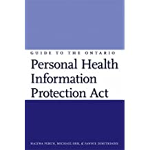 Guide to the Ontario Personal Health Information Protection Act