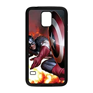 TOSOUL Customized Print Captain America Hard Skin Case For Samsung Galaxy S5 I9600