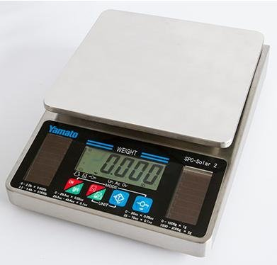 Yamato SPC-Solar-2002 Stainless Steel Portion Control Scale Dual Range,4.4 lb x 0.005 lb,New by Yamato