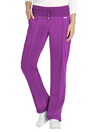 Grey's Anatomy Active 4276 Yoga Pant Very Berry XS by Barco