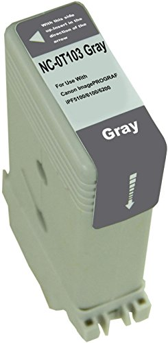 (Universal Brand: Replacement for Canon PFI-103GY cartridge - gray)