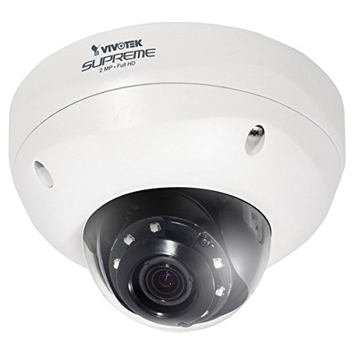 Vivotek FD8363 Full HD Smart Focus System Smart IR IP66 Vandal-proof Fixed Dome Network Camera