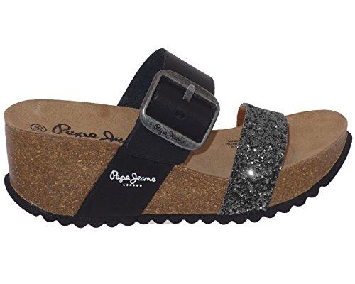 Pieds Sandales Noir Pepe pls90291 Tyron Nu Jeans 1R55qwtH