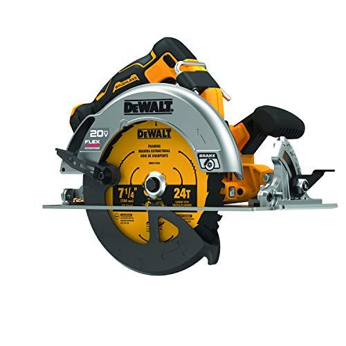 DEWALT DCS573B 20V MAX 7-1/4 in. Brushless Cordless Circular Saw with FLEXVOLT Advantage (Tool Only)