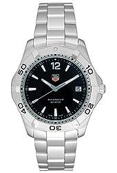 TAG Heuer Men's WAF1110.BA0800 2000 Aquaracer Quartz Watch