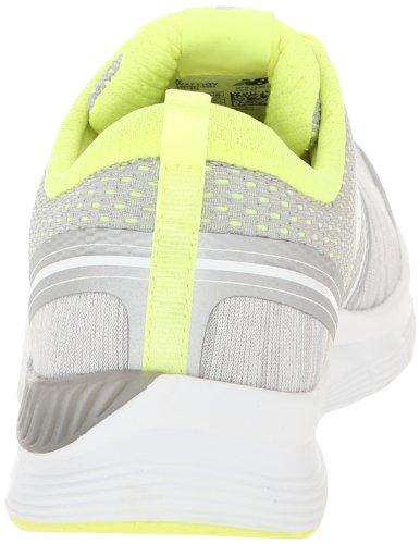 888098214253 - New Balance Women's 711 Heather Cross-Training Shoe,Grey/Yellow,11 D US carousel main 1