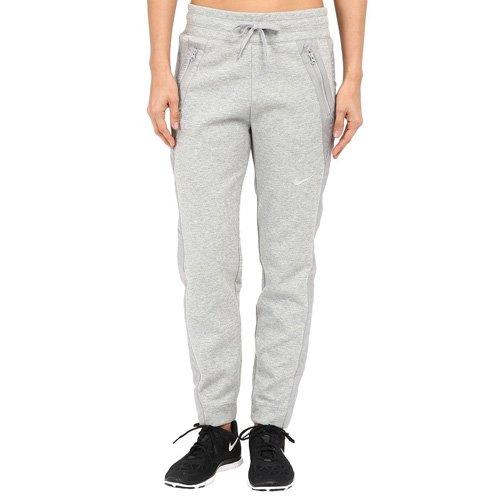 Nike entrenamiento pantalones Advance 15Forro Polar Pants, Gris oscuro heidekrat/mate plata/blanco, M, 725722–�?63