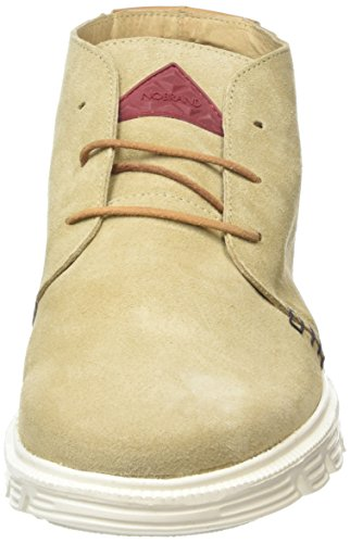 cappuccino Homme Beige Chukka Boots Non Angerfist Nobrand Doublées BPpSS6