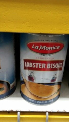 La Monica: Lobster Bisque 51 Oz. (12 Pack Case) by La Monica