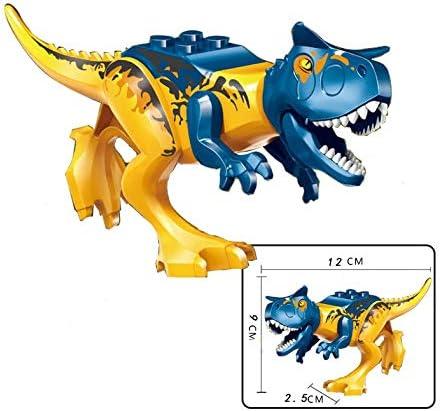 Alien Technology Set De 8 Dinosaurios Armables Bloques Rex Velociraptor Park Amazon Com Mx Juegos Y Juguetes Lego set x 12 dinosaurios jurassic world 12 cm armables. alien technology set de 8 dinosaurios armables bloques rex velociraptor park