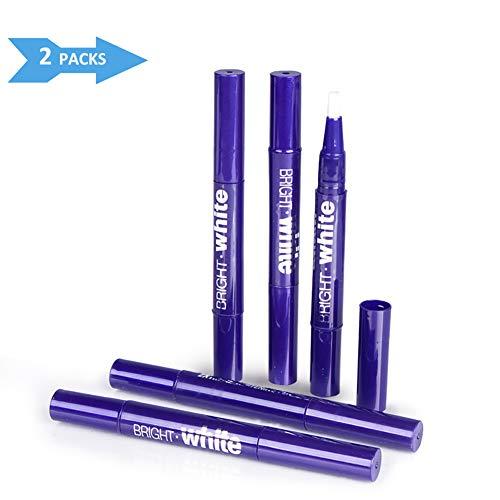 Safe 35% Carbamide Peroxide Gel Pen Teeth Whitening Kit,No Sensitivity,Painless Teeth Whitener,2 Packs Teeth Whitening Pen