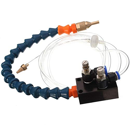 1pc Mist Coolant Lubrication Spray System For 8mm Air Pipe CNC Lathe Milling Drill Machine
