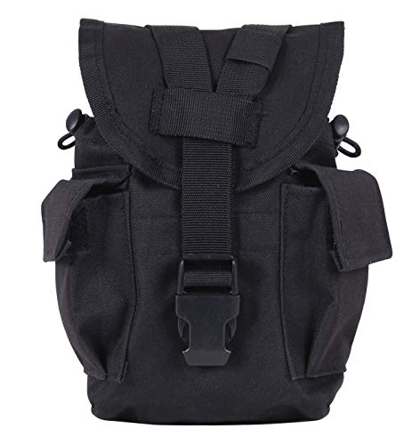 Rothco Molle Ii Canteen/Utility Pouch, Black