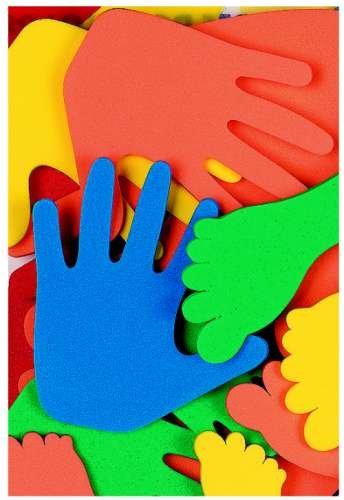 Hände und Füße Foam-Pack