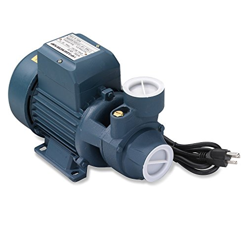 - Neiko 50639 Electric Centrifugal Clear Water Pump, 1 HP