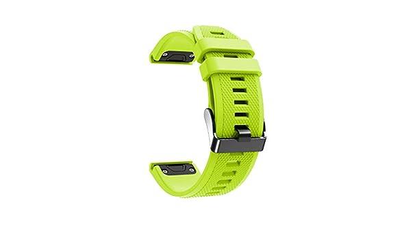 Yellsong - Correa de Repuesto para Reloj Garmin Fenix 5X/5X ...
