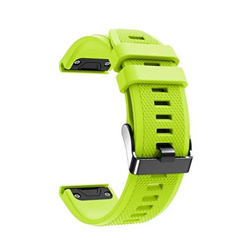 VICCKI Replacement TPU Soft WatchBand Strap for Garmin Fenix 5X/5X Plus/Fenix 3/3 HR