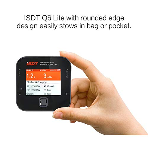 Wikiwand ISDT Q6 200W 8A Handheld Pocket Battery Balance Charger for RC Charger Part by Wikiwand (Image #1)