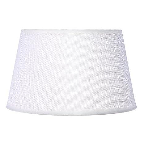 5edd0c887bf Cotton Lamp Shade PVC Linen Soft Light for Table Lamp Nightstand Lamp