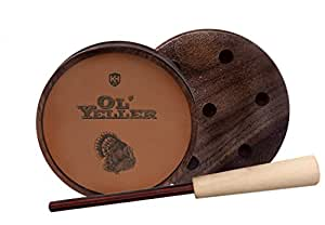 Knight & Hale Ol' Yeller Classic Ceramic Turkey Pot Call
