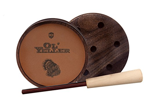 Knight & Hale Ol' Yeller Classic Ceramic Turkey Pot - Slate Friction Turkey Call