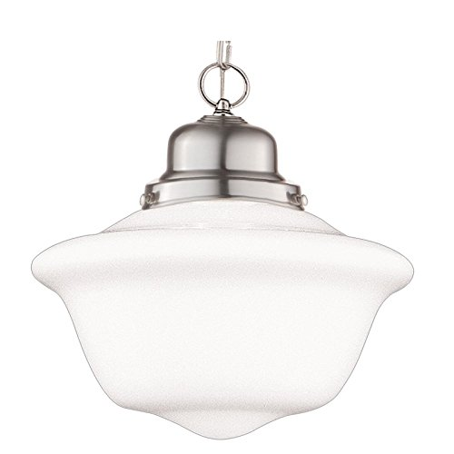 Hudson Valley Lighting 1612-SN One Light Pendant from The Edison Collection, 12