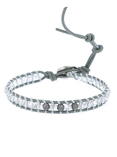 Chan Luu Silver Shade Mix Single Wrap Bracelet, BS-4992 (Chan Luu Single Wrap)