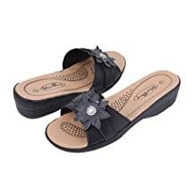 New Women's Slide Wedge Sandals / Sandales