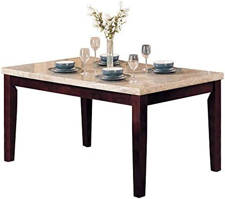 ACME Britney Walnut Dining Table