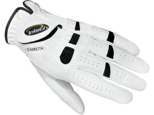 Intech Ti-Cabretta Men's Golf Gloves, Left-Hand, Medium  (6 Pack)