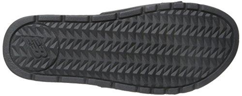 Men's New 4E Slide Cush Sandal Black Balance Grey Grey Black 10 US Sqq56axw