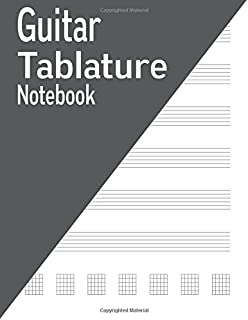 Guitar Tablature Notebook: 120 Pages