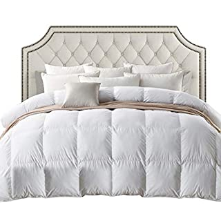 Luxurious 800 Thread Count HUNGARIAN GOOSE DOWN Comforter Duvet Insert - King Size, 750 Fill Power, 50 oz Fill Weight, 100% Egyptian Cotton Cover (B002XZ4704) | Amazon price tracker / tracking, Amazon price history charts, Amazon price watches, Amazon price drop alerts