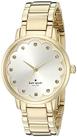 kate spade new york Women's KSW1047 Gramercy Analog Display Analog Quartz Gold Watch