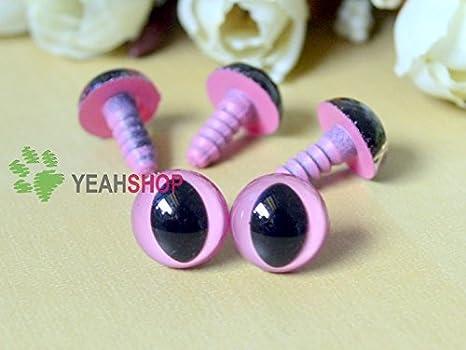 Amazon.com: 12mm Safety Eyes Plastic Eyes Plastic Craft Safety ...   350x466