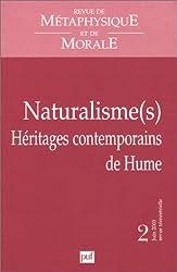 Revue de métaphysique et de morale 2003, numéro 2 : Naturalisme(s). Héritages contemporains de Hume