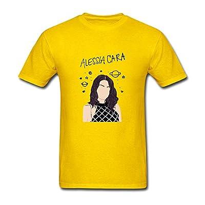 XLHL6OJ Mens Alessia CARA Know It All Short Sleeves T Shirt