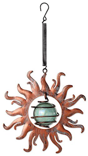 Sunset Vista Designs Vintage Copper Sun Bouncy Hanging Decoration by Sunset Vista Designs