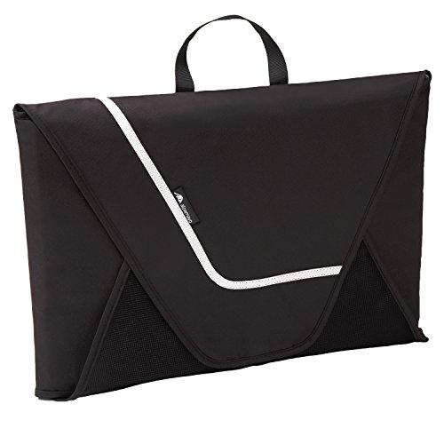 Hemdentasche für knitterfreie und faltenfreie Hemden auf Reise für den Transport von Hemden im Koffer, Handgepäck oder Reisetasche, schwarz