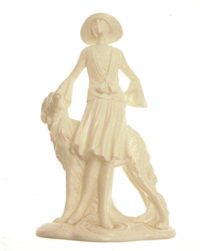 (Royal Worcester Clara Vogue Collection Art Deco Figurine)