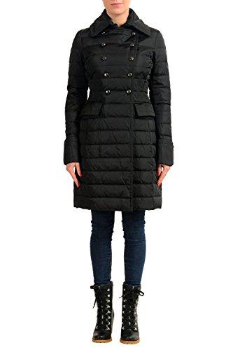 Moncler Women's HISSOPE Double Breasted Down Parka Coat Sz 1 US (Moncler Down Coat)