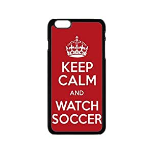 WAGT Keep Calm And Watch Soccer Fahionable And Popular Back Case Cover For Iphone 6