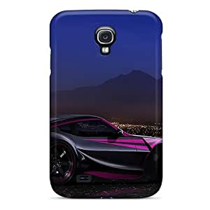 New Style Tpu S4 Protective Case Cover/ Galaxy Case - Night Rider