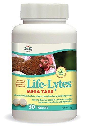 Manna Pro Life-Lytes Mega Tablets, 30 Tablets