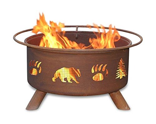Patina Pits (Patina Products F107,  30 Inch Bear & Trees Fire Pit)