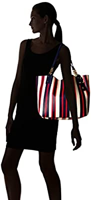 Tommy Hilfiger Gabby Painted Stripes Tote