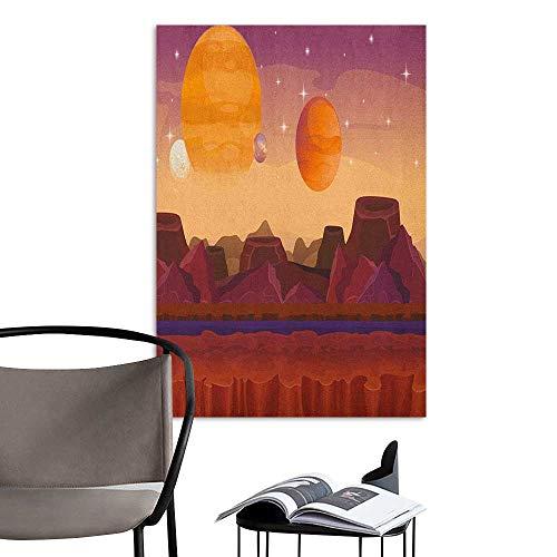 Camerofn Retro Poster Decorative Painting Fantasy Science Fiction