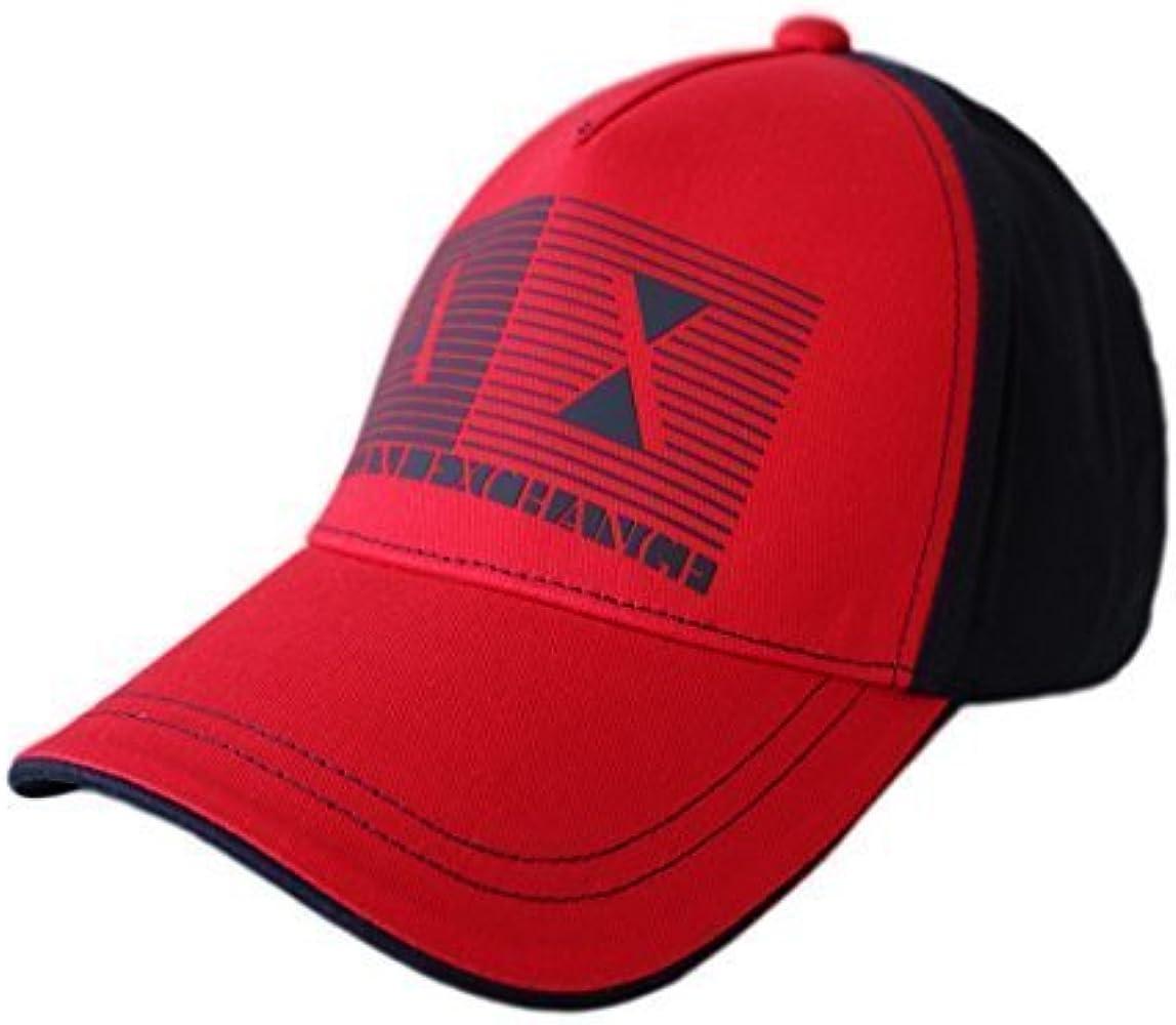 Armani Exchange - Gorra de béisbol - para Hombre Azul Red & Navy ...