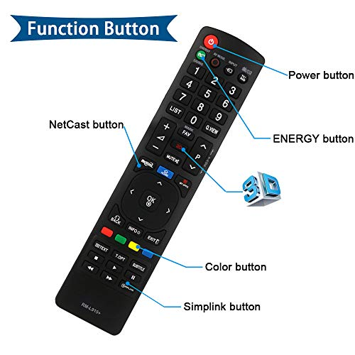 Buy lg smart tv remote control replacement akb74455416