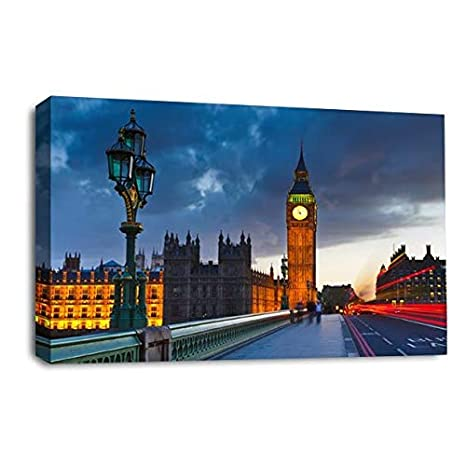 LR Le Reve London Big Ben - Lienzo Decorativo para Pared ...